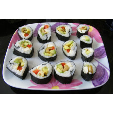 Sushi Rice & Salmon